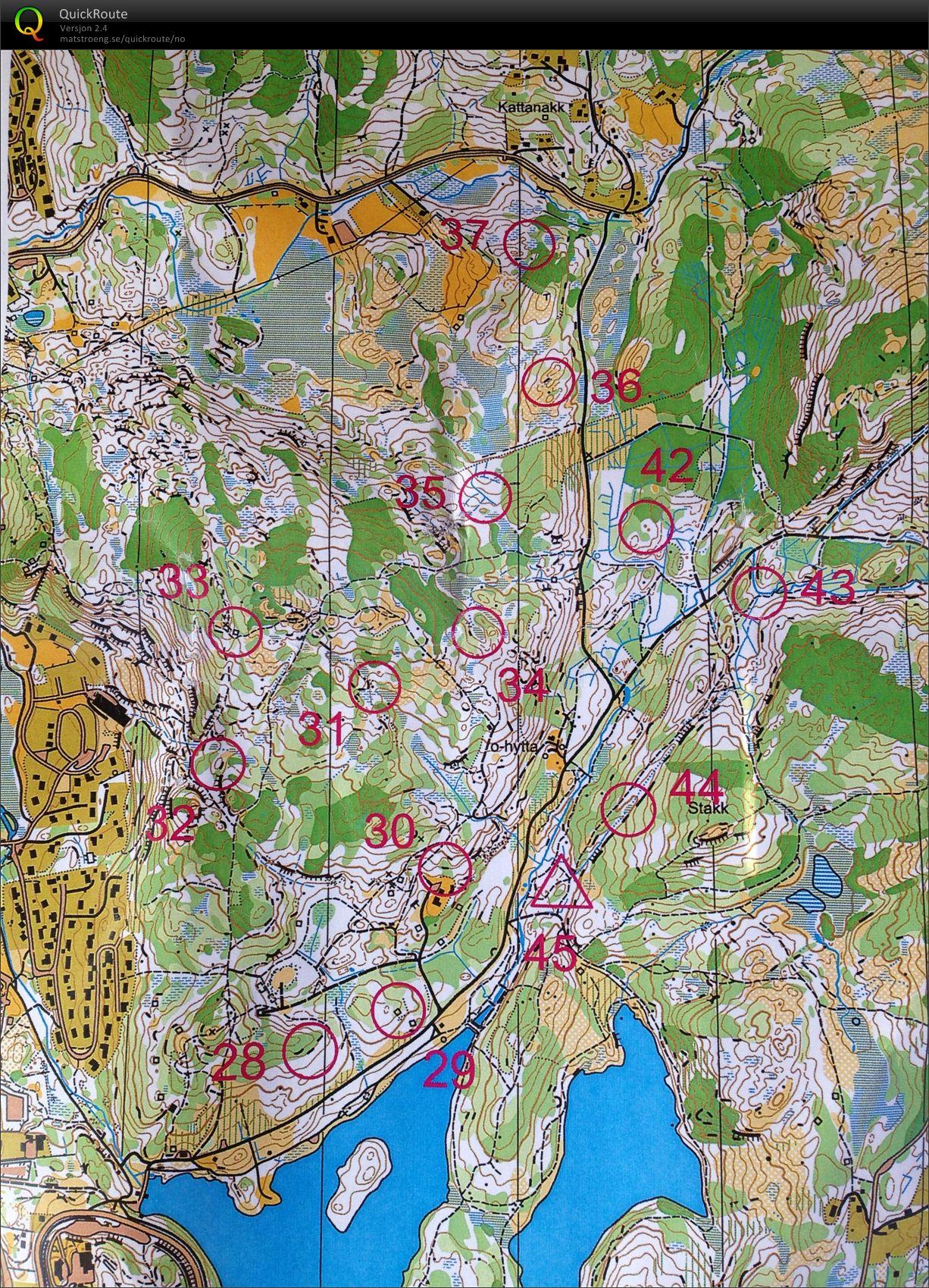 byheiene haugesund kart Trening Byheiene sør   June 25th 2013   Orienteering Map from  byheiene haugesund kart