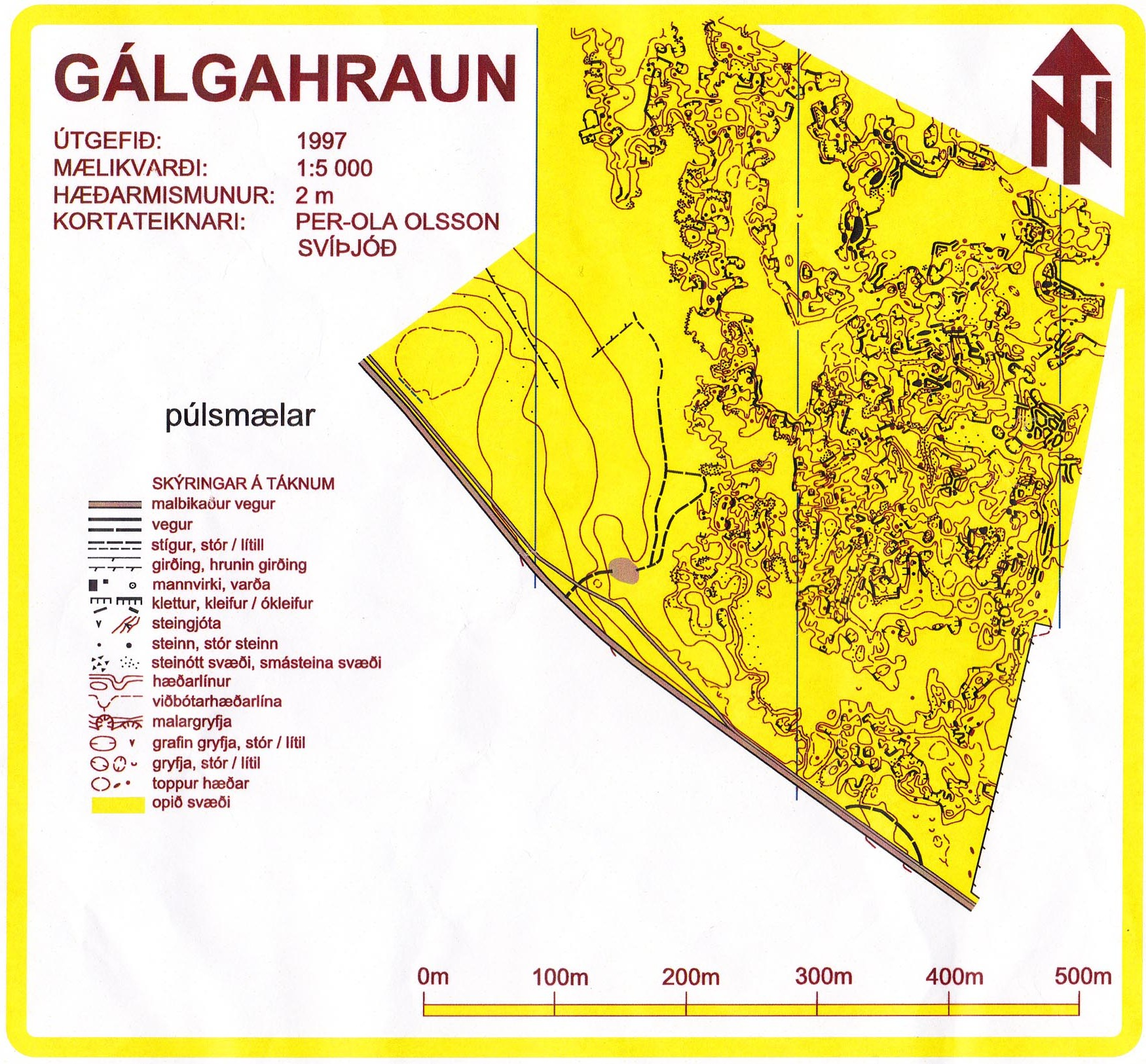 Galgahraun orienteering